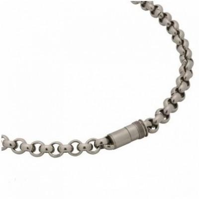 Edelstalen collier met magneet sluiting