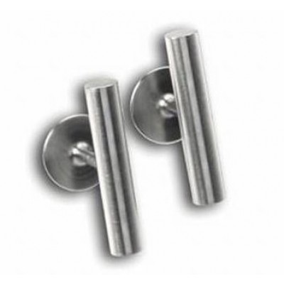Ernstes Design Manchetknopen rond streep